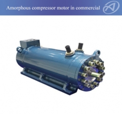 Amorphous Compressor Motor In Commercial Air-conditioner