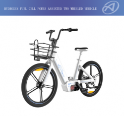 Hydrogen fuel cell Power assisted two wheeled vehicle